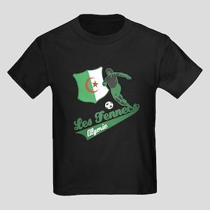 Algerian soccer Kids Dark T-Shirt