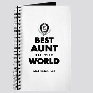 The Best in the World Best Aunt Journal