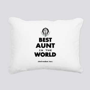 The Best in the World Best Aunt Rectangular Canvas