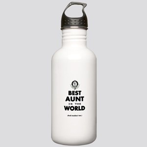 The Best in the World Best Aunt Water Bottle