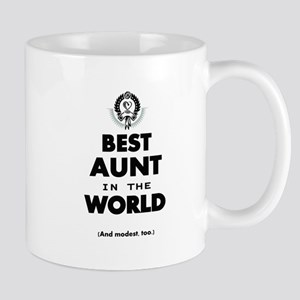 The Best in the World Best Aunt Mugs