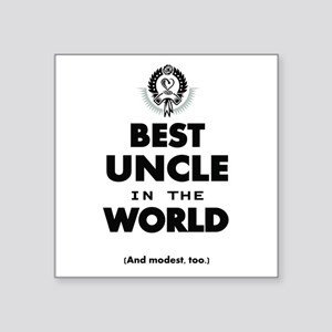 The Best in the World Best Uncle Sticker