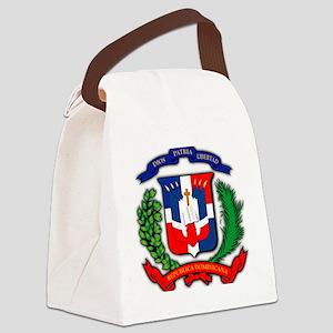 Republica Dominicana, Dominican R Canvas Lunch Bag