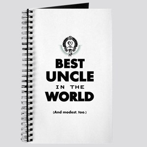 The Best in the World Best Uncle Journal