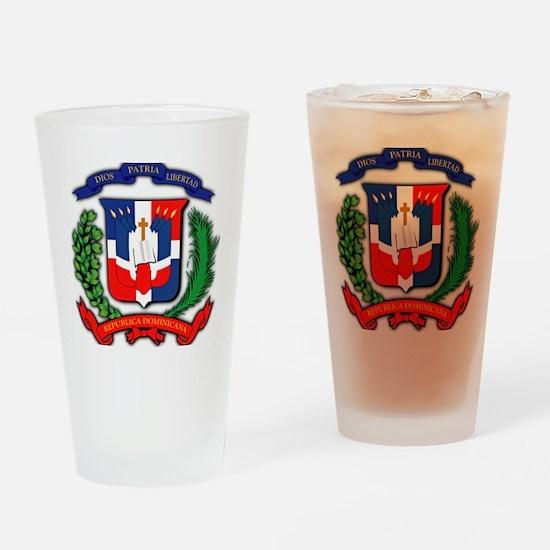 Republica Dominicana, Dominican Rep Drinking Glass