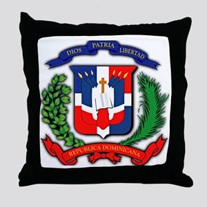 Republica Dominicana, Dominican Repub Throw Pillow