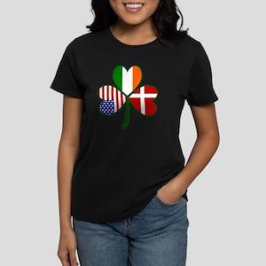 Danish Shamrock Women's Dark T-Shirt