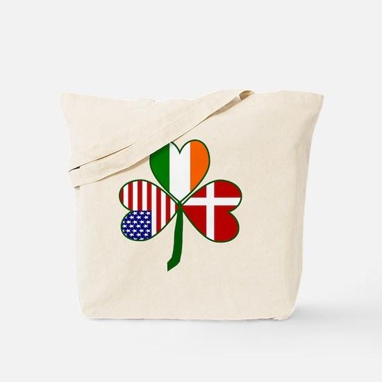 Danish Shamrock Tote Bag