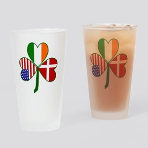 Danish Shamrock Drinking Glass