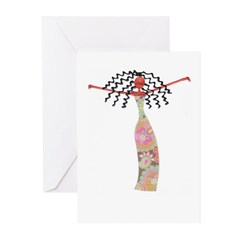 Diva Greeting Cards (Pk of 10)