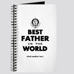 The Best in the World Best Father Journal