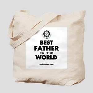 The Best in the World Best Father Tote Bag