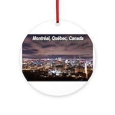 Montréal Ornament (Round)