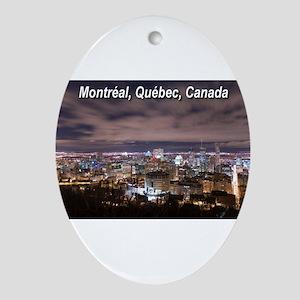 Montréal Ornament (Oval)