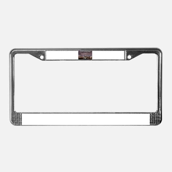 Montréal License Plate Frame