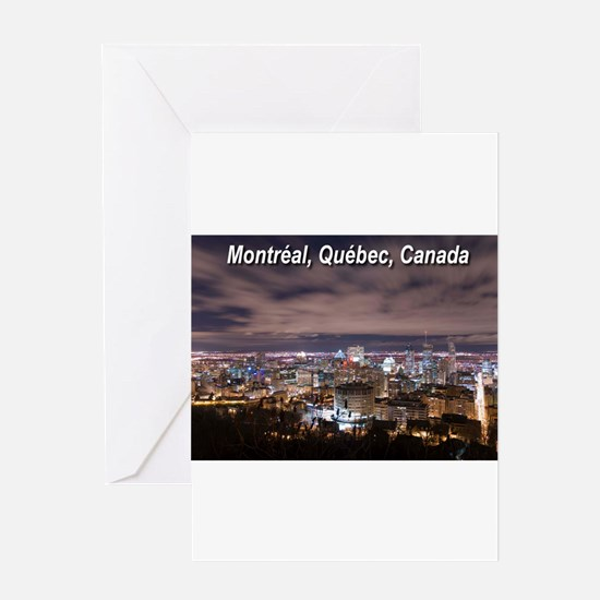 Montréal Greeting Card