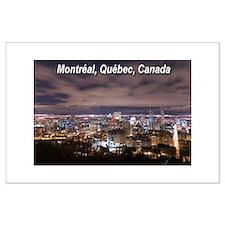Montréal Large Poster