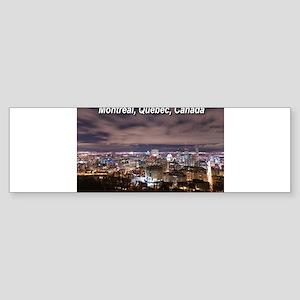 Montréal Sticker (Bumper)