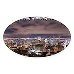 Montréal Sticker (Oval)