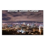 Montréal Sticker (Rectangle 50 pk)