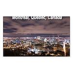 Montréal Sticker (Rectangle 50 pk)