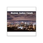 Montréal Square Sticker 3
