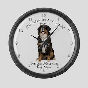 Berner Mom Large Wall Clock