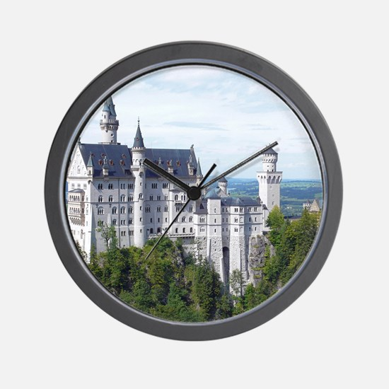 Neuschwanstein001 Wall Clock