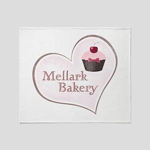 Mellark Bakery Heart Throw Blanket