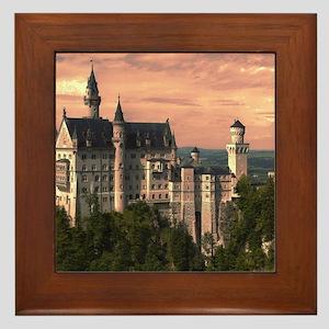 Neuschwanstein003 Framed Tile