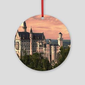 Neuschwanstein003 Round Ornament