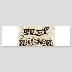 surf nation Bumper Sticker