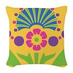 Pop Baroque Woven Throw Pillow