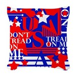 Don't Tread On Me Woven Throw Pillow