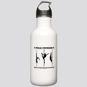 Pole Fitness Beauty Strength Pride Black Water Bot