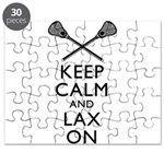 Keep Calm And Lax On Puzzle