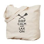 Keep Calm And Lax On Tote Bag