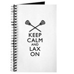 Keep Calm And Lax On Journal