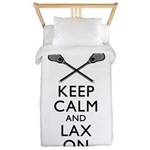 Keep Calm And Lax On Twin Duvet