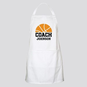 Personalized Basketball Coach Gift Apron
