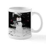 Happy Snowman Mugs