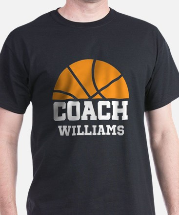 Gifts for basketball coach unique basketball coach gift ideas basketball personalized coach name t shirt negle Choice Image