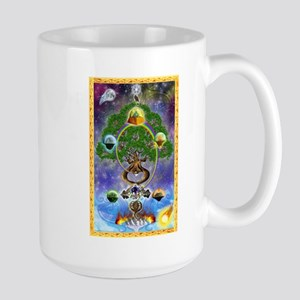 Large Mug Featuring Yggdrasil, The World Tree!