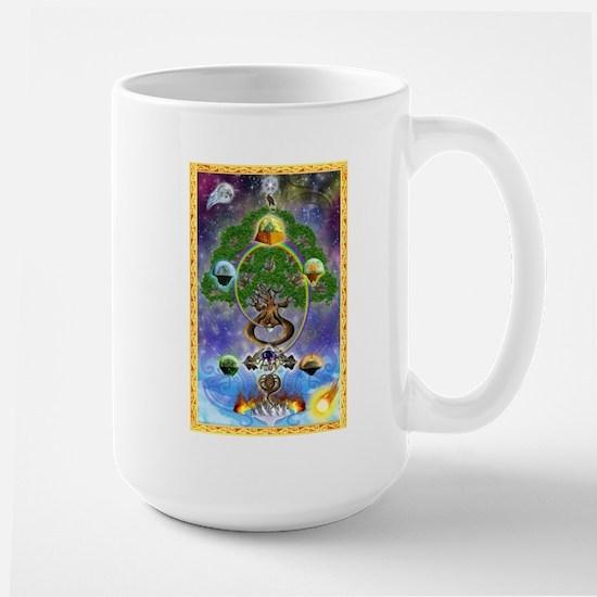 Large Mug Featuring Yggdrasil, The World Tree!