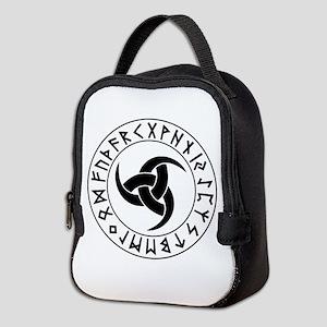 Odin Horn Shield Neoprene Lunch Bag