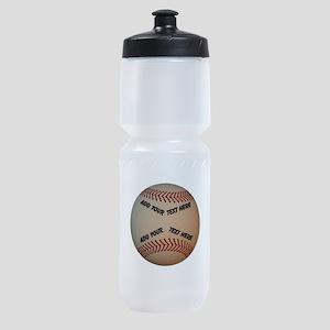 Baseball Sports Bottle