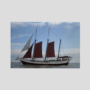 Thames Sailing Barge Rectangle Magnet