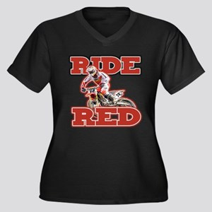 Ride Red 2013 Plus Size T-Shirt