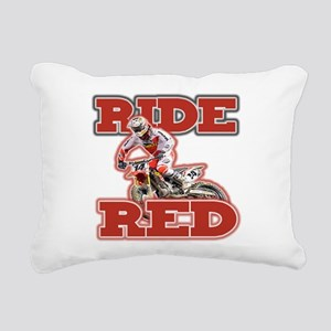 Ride Red 2013 Rectangular Canvas Pillow