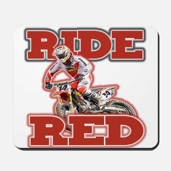 Ride Red 2013 Mousepad